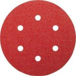 50 ΦΥΛΛΑ ΛΕΙΑΝΣΗΣ Ex Φ125mm Κ40 Red wood Top